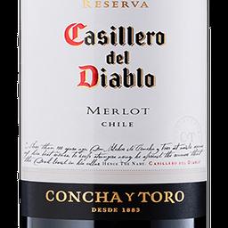 Vinho Merlot Chileno Casillero Del Diablo 750ml