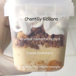 Sobremesa de Chantilly Siciliano O Padeiro - 220g