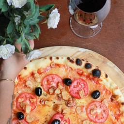 Pizza de aglio