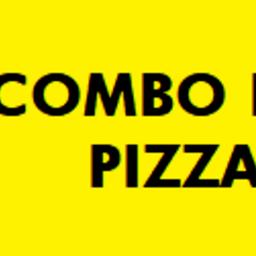 Pizza Em Dobro - Calabresa e Mussarela