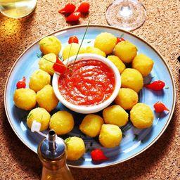 Nhoque de batata doce com queijo