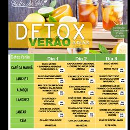 Detox Verão 3 Dias