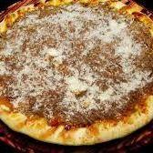 Pizza Doce de Leite com Coco