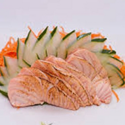 Sashimi Salmão Maçaricado - 5 Peças