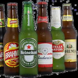Cerveja long neck, stella artois