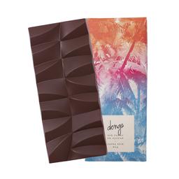 Chocolate amargo 65% cacau zero adição de açúcares - 80g