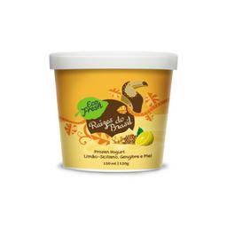 Frozen de limão siciliano, gengibre e mel