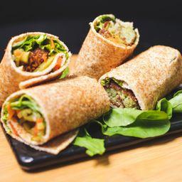 Falafel Tamiah Sandwich- Fava Egípcia- Servidos 2 Wraps