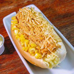 Hot-Dog Estrogonoff de Frango