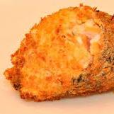Temaki hot salmão emapando