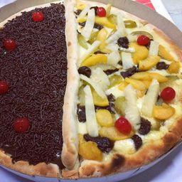 Pizza Doce Grande 2 Sabores