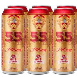Combo de 6 Wienbier 55 Pilsen 550ml