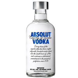 Vodka Absolut 200ml