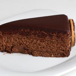 Mousse de Chocolate Fatia