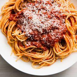 Espaguete Duplo Molho