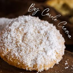 Cookie Gelado de Coco - By Carole Crema