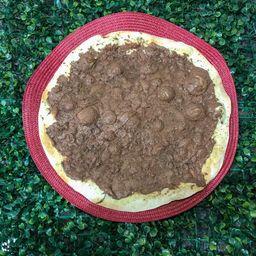 Pizza de Nutella com Ovomaltine