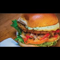 Burger veggie + 5 toppings grátis!