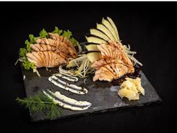 Sashimi Salmão Maçaricado - 8 Unidades
