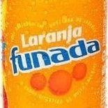 Tubaína Funada Laranja Lata 350 ml