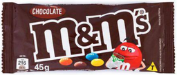 M&M de Chocolate ao Leite - 45g