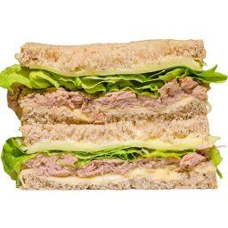 Sanduíche Natural de Atum e Mussarela