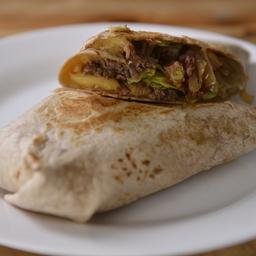 Wrap (Massa Integral) Carne Louca