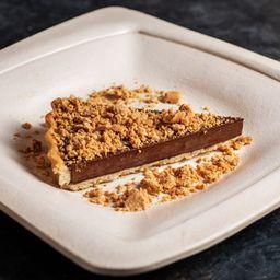 Fatia: Chocolate Meio Margo com Paçoca