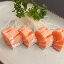 Sashimi Barriga Salmão