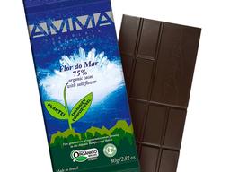 Chocolate amma flor do mar 75%