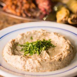 Hommus Bi Tahine + 1 Pão Árabe
