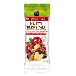 Snack Natures Heart Nutty Berry Mix - 25g