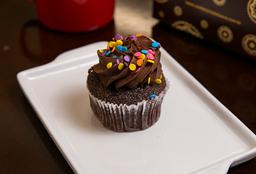 Cupcake Chocolate com Creme de Chocolate