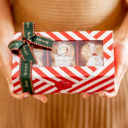 Caixa Trio Amanteigados | Natal