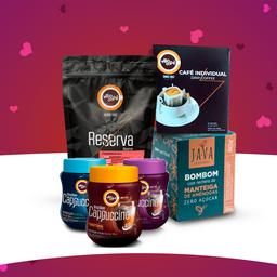 Presente villa café é uma declaração de amor.