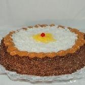Torta de Brigadeiro com Coco 25cm