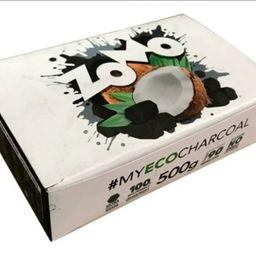 Carvão de Coco Zomo 500g à Granel