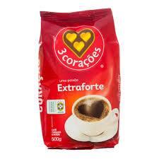 Cafe tres coraçoes extra forte 500g