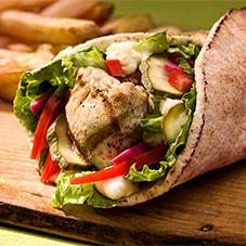 Kebab de Linguiça Suína