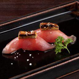 Sushi de Atum com Foie Gras