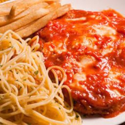 Parmegiana Cupim Espaguete