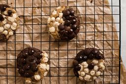 Soft Cookie Meio à Meio