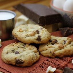 Cookie Dark-White Chocolate - 75G