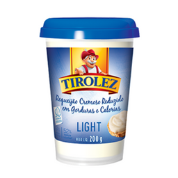 Requeijão Light Tirolez - 200g