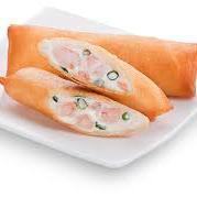 Harumaki salmão com cream cheese e cebolinha 2 unidades