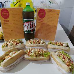 Combo Hot Dog e Dolly 2L