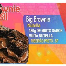 Big Brownie de Nutella