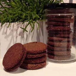 Cookies de Amêndoas e Cacau No Pote 130g