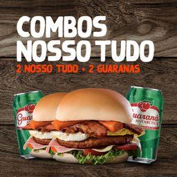 2 Nosso Tudo + 2 Guaranás