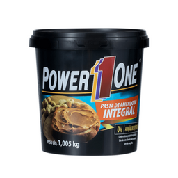 Pasta de Amendoim Power One - 1kg